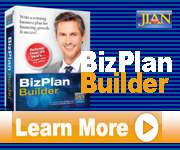 Write a business plan with JIAN BizPlanBuilder business planning software template